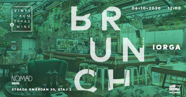 evenimente weekend 2-4 oct brunch vrtw la nomad skybar