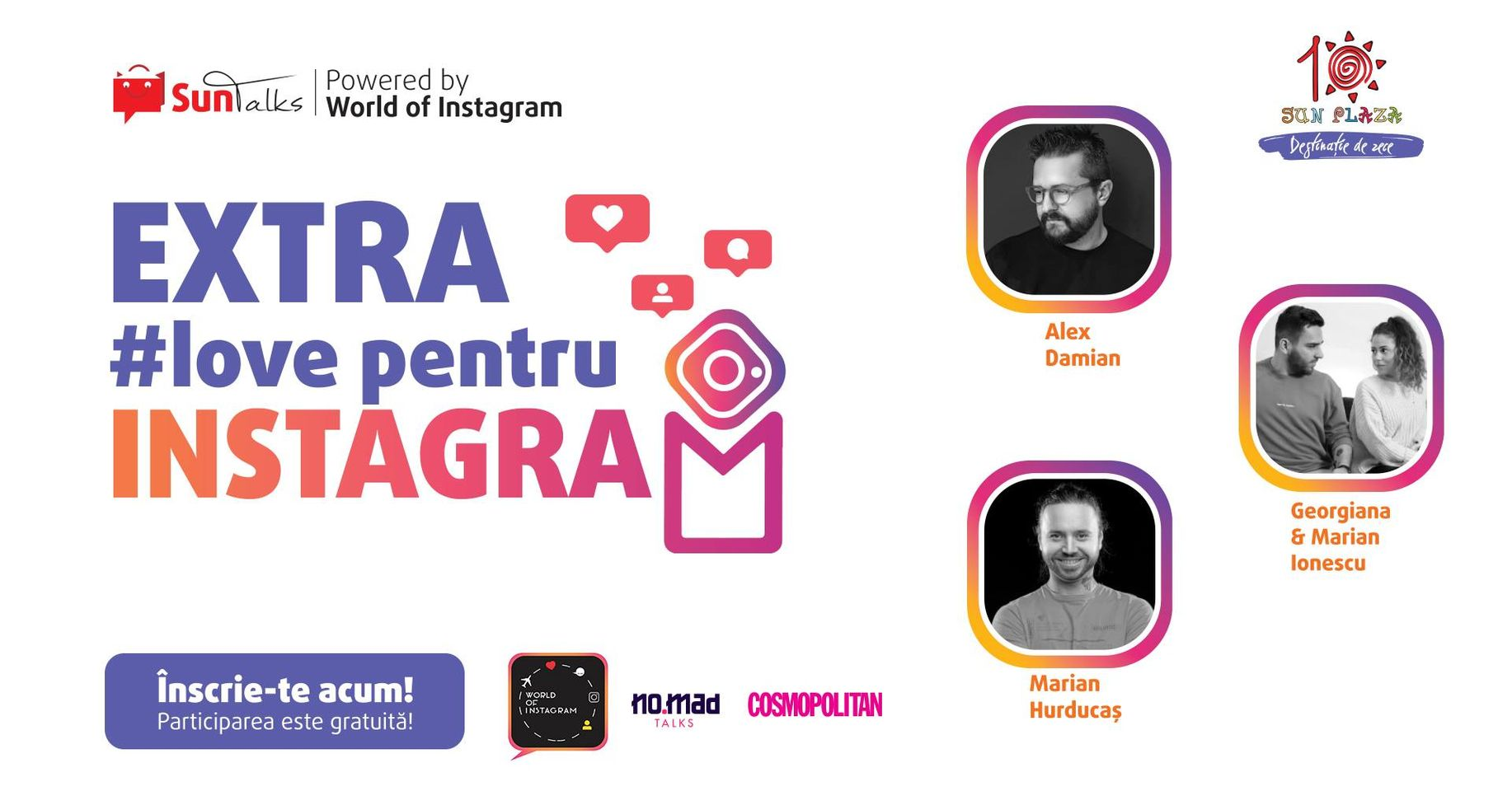 evenimente weekend 16-18 oct extra love for instagram