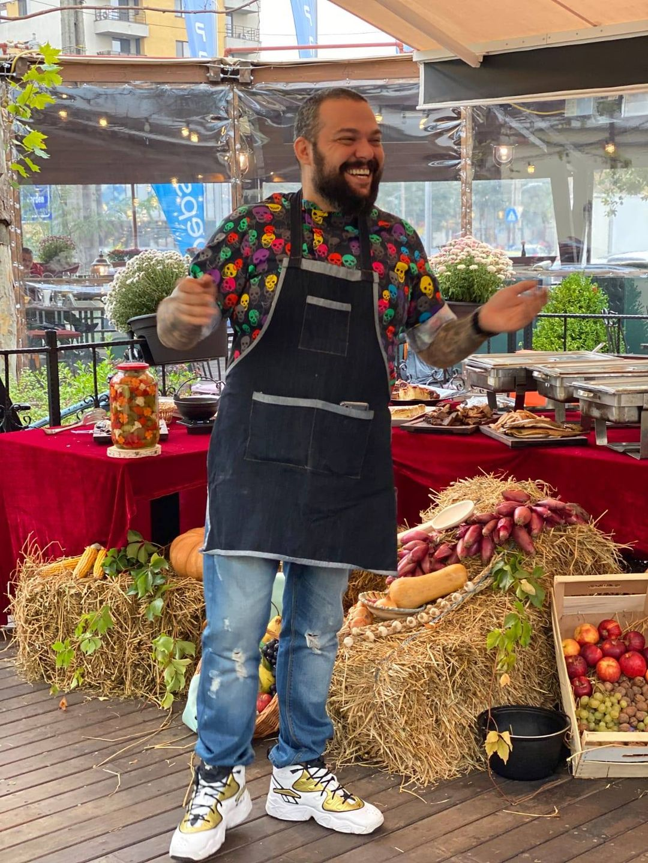 evenimente weekend 30 oct- 1 nov live cooking show cu chef munti la pajo garden
