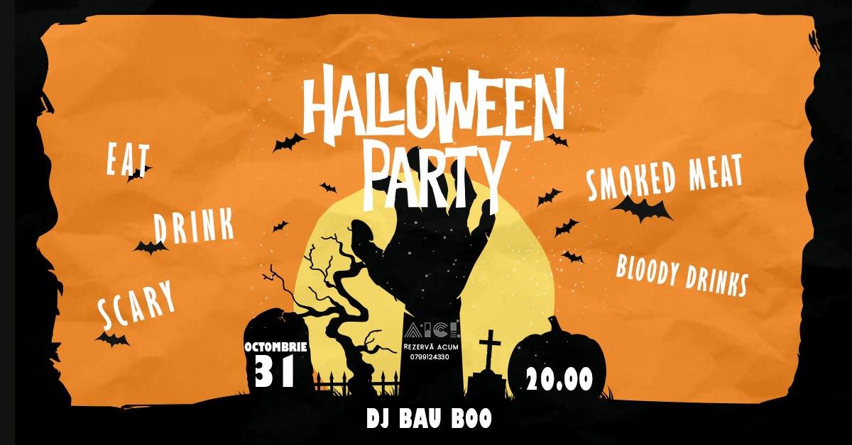 evenimente weekend 30 oct- 1 nov smoked halloween la aici