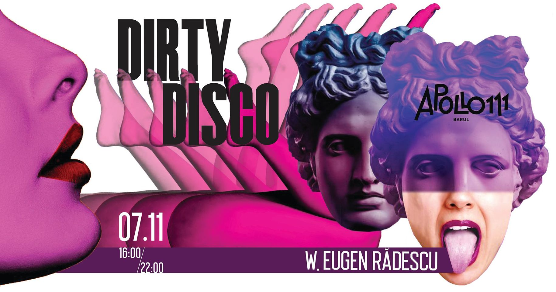 evenimente weekend 6-8 nov autumn dirty disco