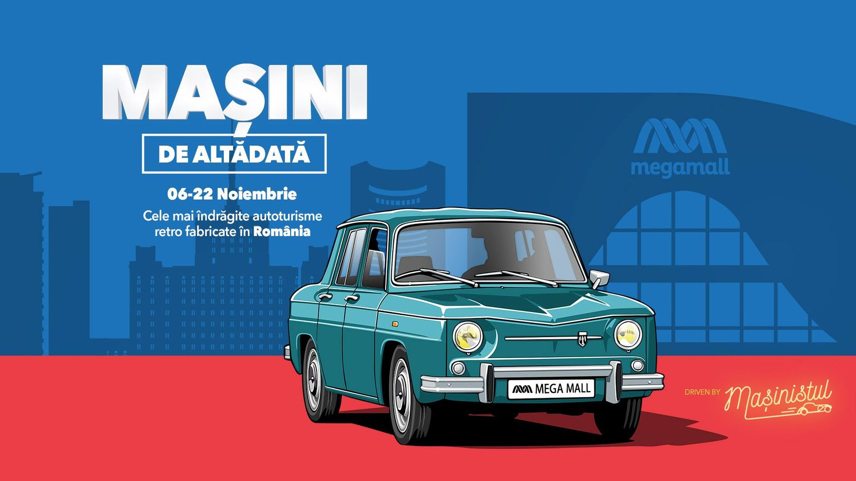 evenimente weekend 6-8 nov  masini de alta data la mega mall