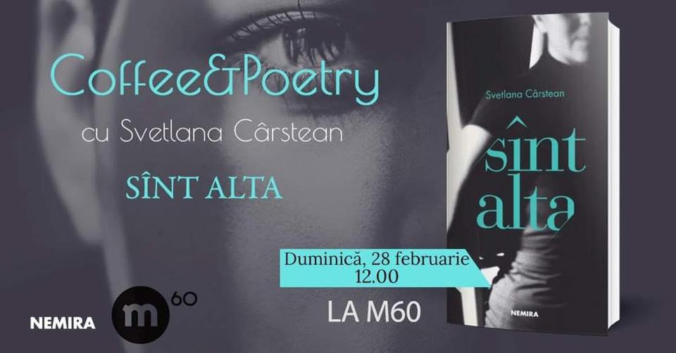 evenimente weekend 26-28 feb cafea si poezie la M60