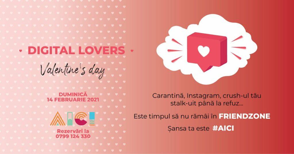 Valentine's day digital lovers la #aici