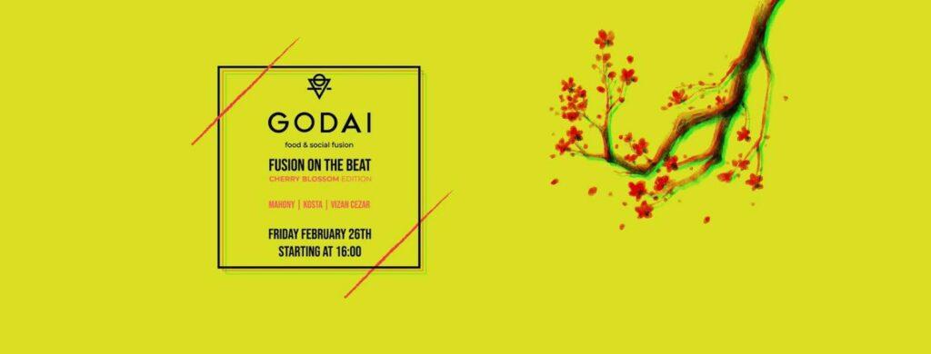 evenimente weekend 26-28 feb fusion the beat la restaurant godai