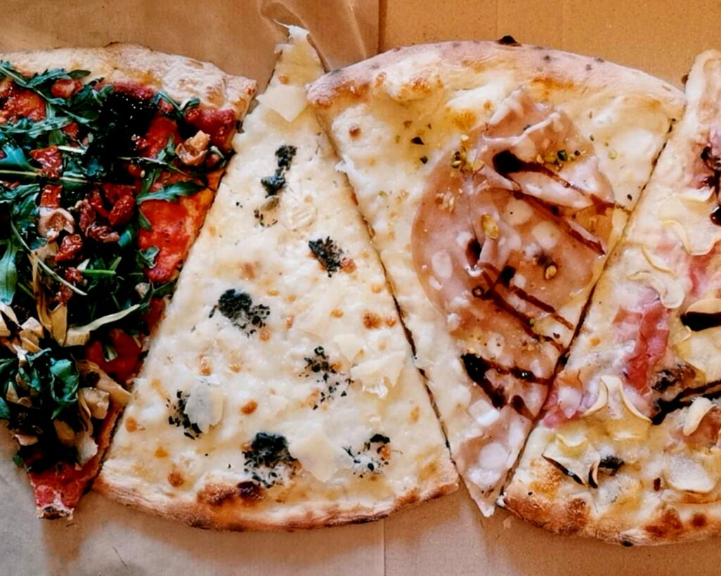 antica pizza felii