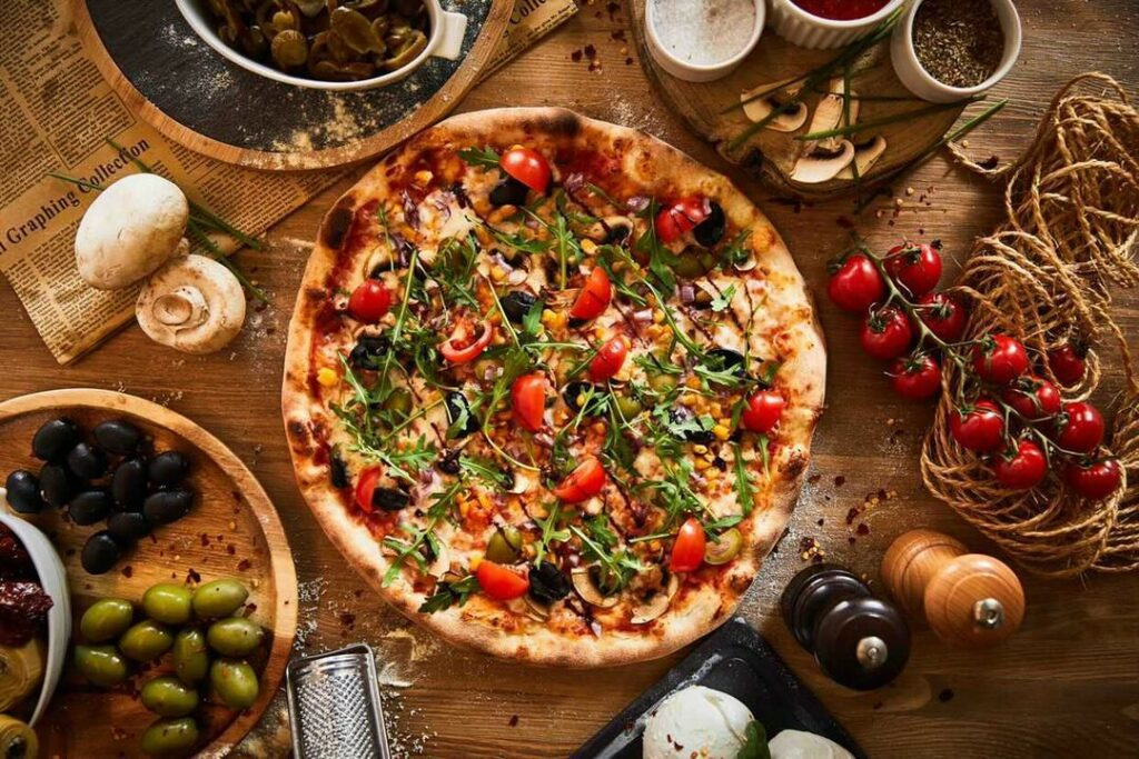 pizza fresca antica
