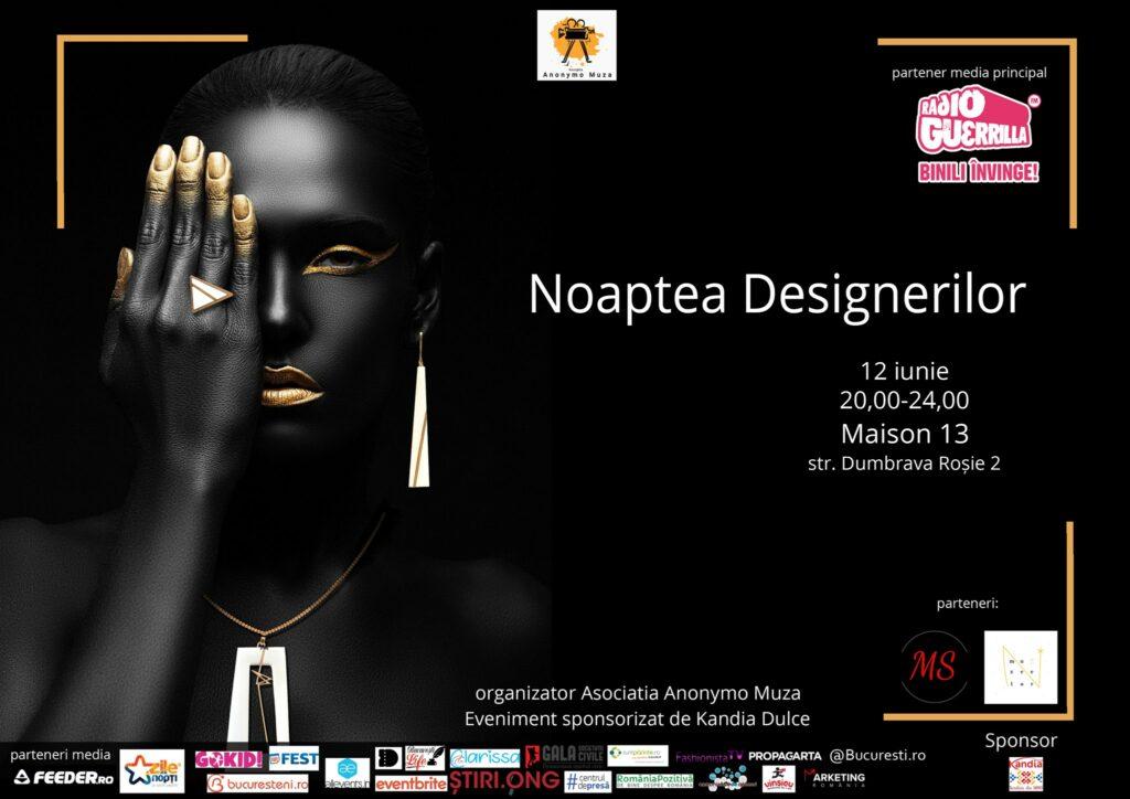 weekend evenimente 11-13 iunie noaptea designerilor