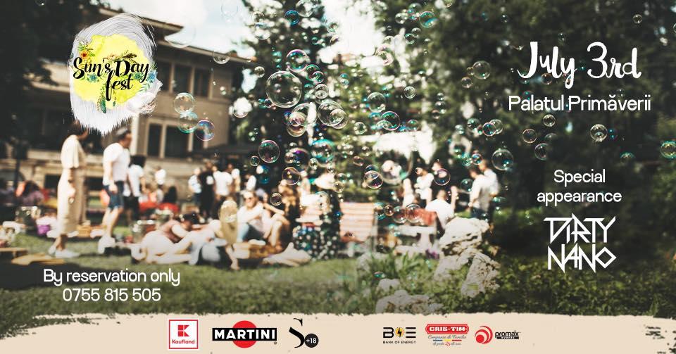 weekend evenimente 2-4 iulie sun day's fest