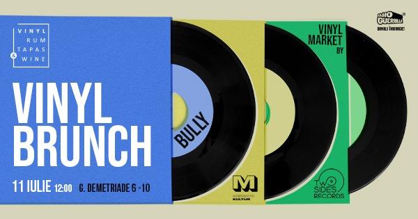 weekend evenimente 9-11 iulie vinyl brunch